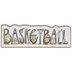 Basketball Wood Wall Decor