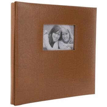 "Camel Vinyl Post Bound Scrapbook Album - 12"" x 12"""