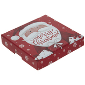 Merry Christmas Santa & Snowflake Gift Card Holder