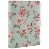 Blue & Pink Floral 6-Ring Planner Binder