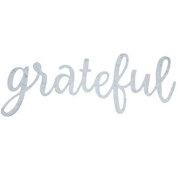 Grateful Galvanized Metal