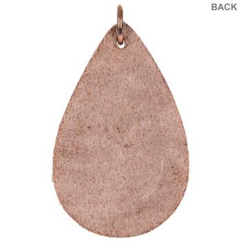 Embossed Leather Pendants