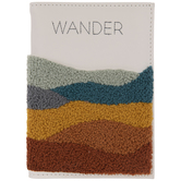 Wander Faux Leather Passport Holder