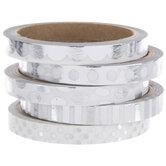 Silver Foil Washi Tape