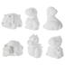 Dinosaurs Plaster Figurines