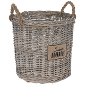 Sweet Home Wicker Basket