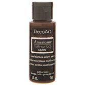 Coffee Bean Americana Multi-Surface Satin Acrylic Paint