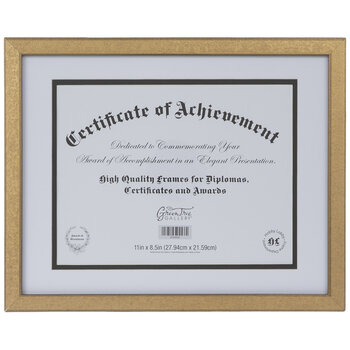 "Textured Document Frame - 11"" x 8 1/2"""