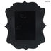 Black Quatrefoil Wood Wall Frame - 5