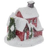 Glitter Snowy House