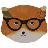 Fox With Glasses Plate