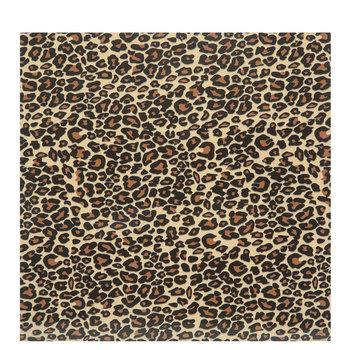 Leopard Print Flocked Iron-On Transfer