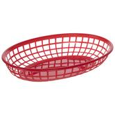 Red Serving Baskets