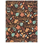 "Thankful Scrapbook Paper - 8 1/2"" x 11"""