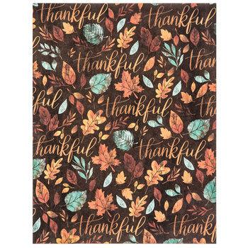 "Thankful Scrapbook Paper - 8 1/2"" x 11"""