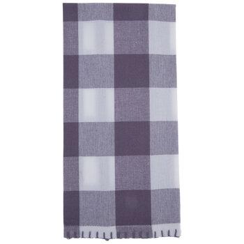 Violet Buffalo Check Kitchen Towel