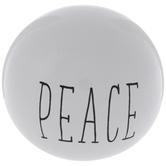 Peace Decorative Sphere