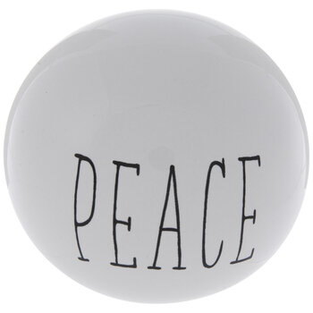 Peace Decorative Sphere