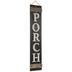 Porch Wood Wall Decor