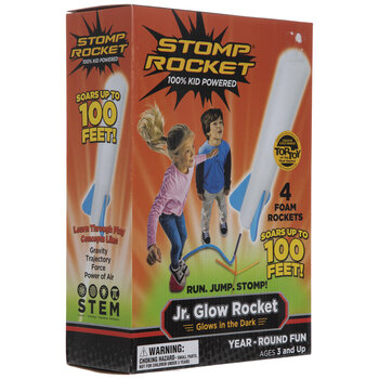 Junior Glow Stomp Rocket