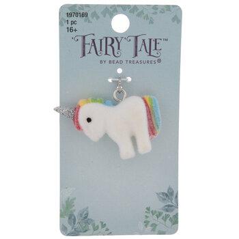 Fuzzy Unicorn Charm