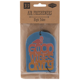 Good Vibes Only Air Fresheners