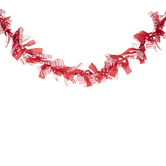 Red Tie Ribbon Garland