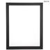Matte Black Wood Open Frame - 18