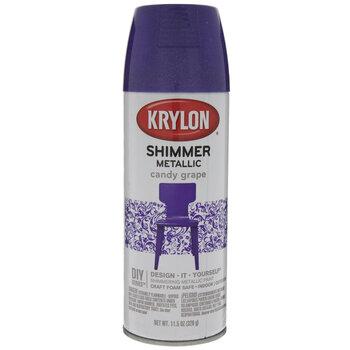 Candy Grape Krylon Shimmer Metallic Spray Paint Hobby Lobby 37702