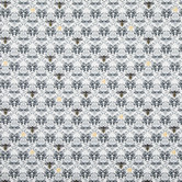 Bee Damask Cotton Calico Fabric