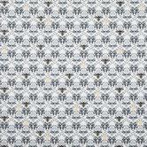 Bee Damask Cotton Calico Fabric