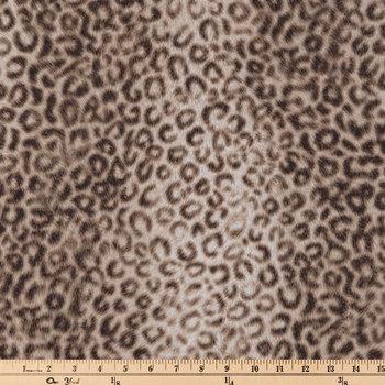 Leopard Print Duck Cloth Fabric
