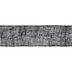 Black Burlap Ribbon - 5 1/2