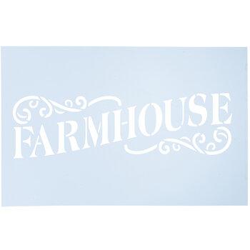 Farmhouse Stencil