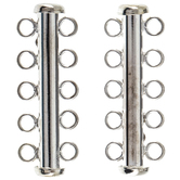 Five-Strand Slide Lock Clasps - 32mm
