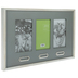 Gray & White Wood Clip Collage Frame