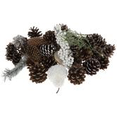 White Gilded Pine Potpourri