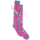 Unicorn Wing Knee High Socks