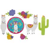 Llama Paper Cutouts
