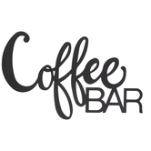 Coffee Bar Metal Wall Decor