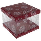 Be Merry Square Box
