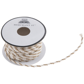 Ivory & Tan Twisted Cord