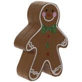 Gingerbread Boy Place Card Holder