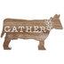 Whitewash Gather Wood Cow
