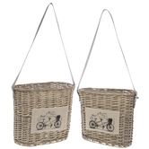 Bike Willow Basket Set