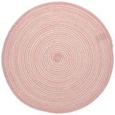 Pink & Silver Round Placemat