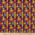Autism Awareness Cotton Calico Fabric