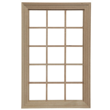 Miniature 15-Light Window