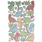 Dinosaur Glitter Stickers