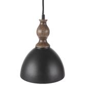Black & Brown Metal Pendant Lamp